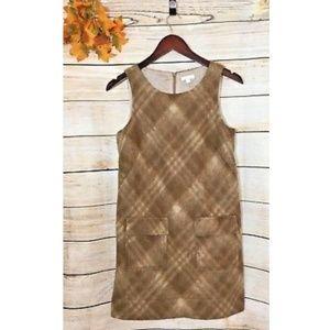 Shoshanna Sz 4 Wool Blend Sheath Dress Retro